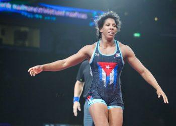 La luchadora cubana Milaymis de la Caridad Marín buscará su clasificación olímpica en Sofía, Bulgaria, junto a otros dos gladiadores de la Isla. Foto: cubasi.cu