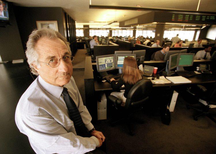 Bernard Madoff, en su oficina de Nueva York, en 1999. | Ruby Washington / Time (Archivo)