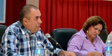 Ydael Jesús Pérez Brito, el nuevo ministro de la Agricultura. Foto: ACN.