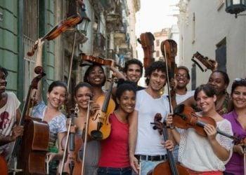 Participantes en la Ruta de Mozart. Foto: Havana Live.
