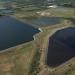 Vista aérea del embalse en peligro, en Florida, EE.UU. Foto: Condado de Manatee.
