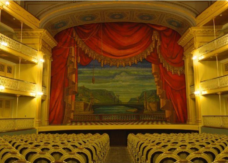 El teatro Sauto. Foto: The Cuban History.