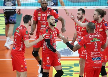 VOLLEY PALLAVOLO. SUPERLEGA CREDEM BANCA 2020-2021 GARA 1 FINALE PLAYOFF. SIR SAFETY CONAD PERUGIA - CUCINE LUBE CIVITANOVA.
