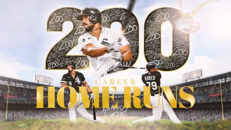 José Abreu se convirtió en el quinto jugador de los Chicago White Sox con 200 jonrones en MLB. Foto: Chicago White Sox.
