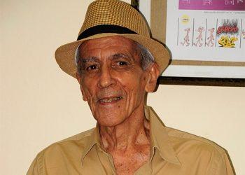 El caricaturista cubano Francisco Blanco. Foto: Juventud Rebelde / Archivo.