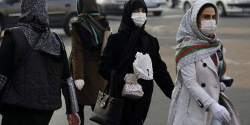 Mujeres en una calle de Teherán. Foto: The Arab Weekly.