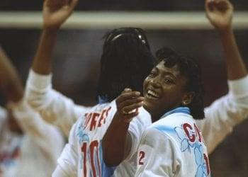 Marlenis Costa durante los Juegos Olímpicos de Atlanta 1996. Foto: Tomada del sitio oficial de los Juegos Olímpicos de Tokio 2020.