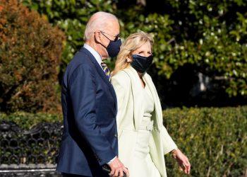 El presidente de Estados Unidos, Joe Biden y la primera dama, Jill Biden. Foto: JIM LO SCALZO/EFE/EPA/Archivo.