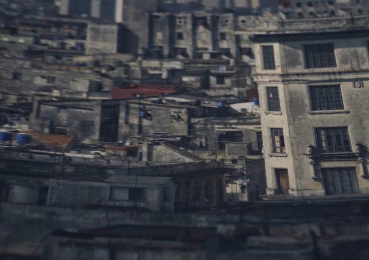 "Fotograma del filme ""Terranova""."