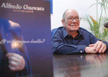 Alfredo Guevara. Foto: Kaloian Santos.