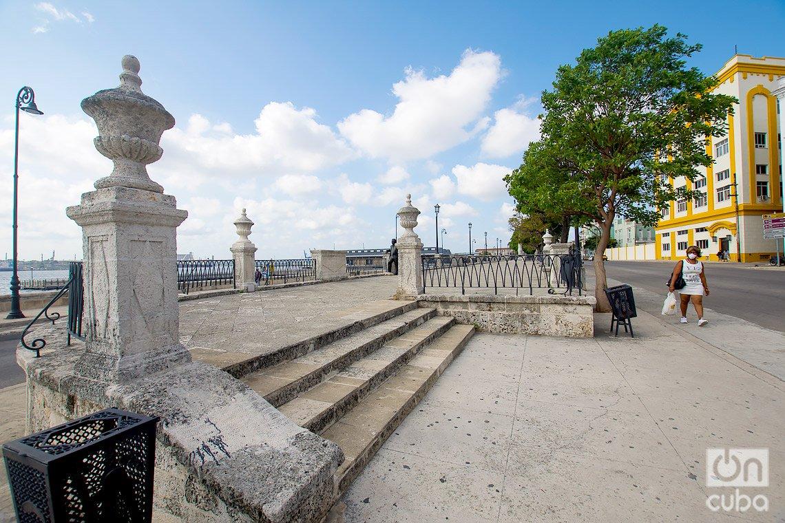 Alameda de Paula, en La Habana. Foto: Otmaro Rodríguez.