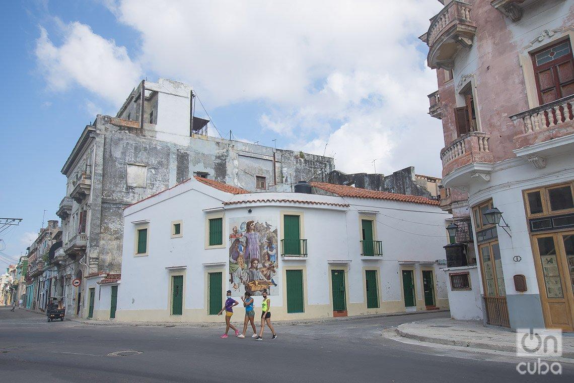 Entorno de la Alameda de Paula, en La Habana. Foto: Otmaro Rodríguez.