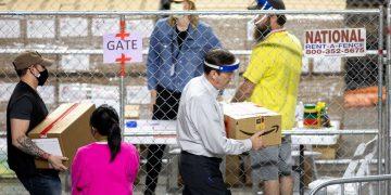 Auditoria en Phoenix, Arizona, a las boletas de las presidenciales. | Foto: Getty (cortesia)