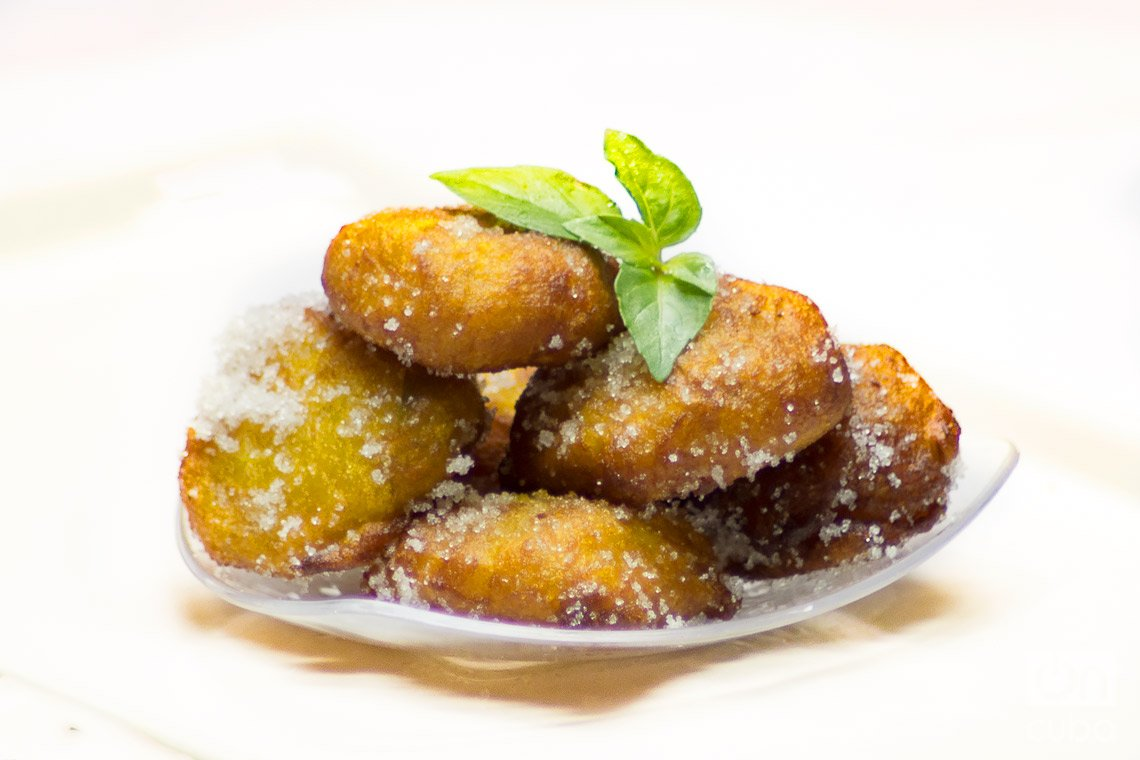 Frituras dulces de calabaza. Foto: Otmaro Rodríguez.