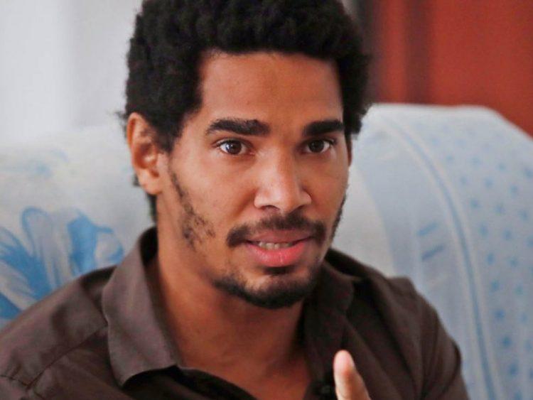 El artista y activista opositor cubano Luis Manuel Otero Alcántara. Foto: Yander Zamora / EFE / Archivo.