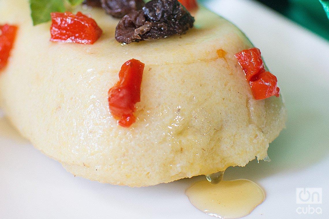 Dulce de harina con guayaba y pasas. Foto: Otmaro Rodríguez.