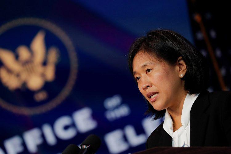 La representante del gobierno de Joe Biden en la Organización Mundial de Comercio (OMT), Katherine Tai. Foto: Foreign Policy.