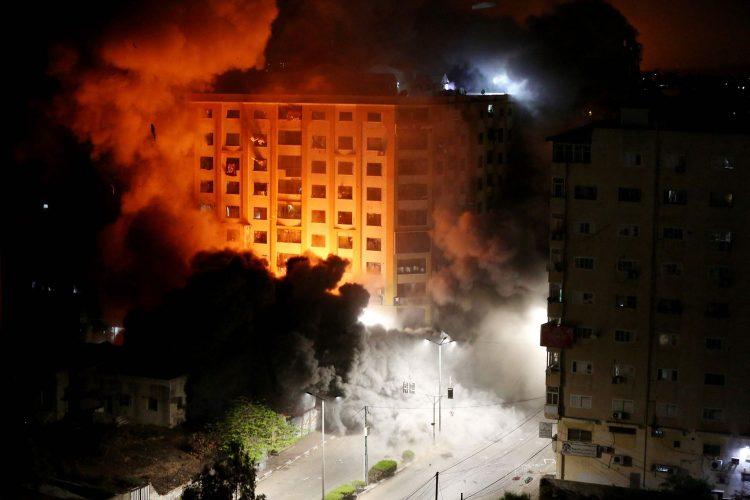 Foto: Mohammed Abed/AFP, vía La Nación.