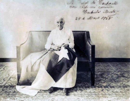Fotografía de Candelaria Acosta, 29 de mayo de 1928.