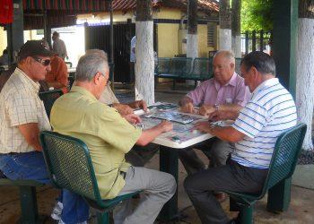 Una de las mesas de juego del parque. | Foto: Condado Miami-Dade.