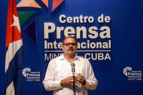 Eugenio Martínez, director de América Latina y el Caribe de la Cancillería cubana. Foto: Radio Ciudad de La Habana / Archivo.