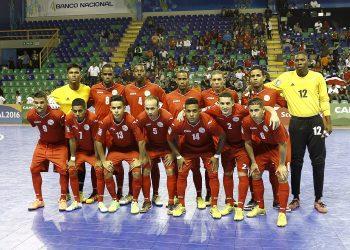Selección cubana durante el partido Cuba vs Costa Rica, en Costa Rica 2016. Foto: concacaf.com