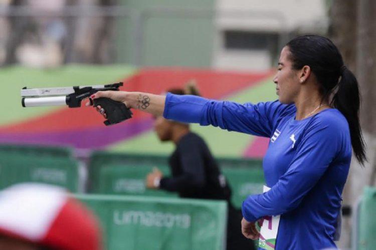 La atleta cubana Leydi Moya. Foto: Roberto Morejón, vía Granma