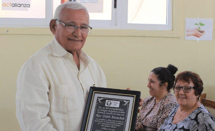 El reverendo Pablo Odén Marichal, líder ecuménico cubano fallecido el 3 de mayo de 2021. Foto: Consejo de Iglesias de Cuba / Archivo.