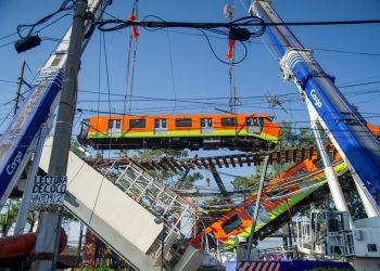 El colapso de la Línea 12 del Metro del DF ha dejado hasta ahora 24 muertos. Foto: La Tercera.