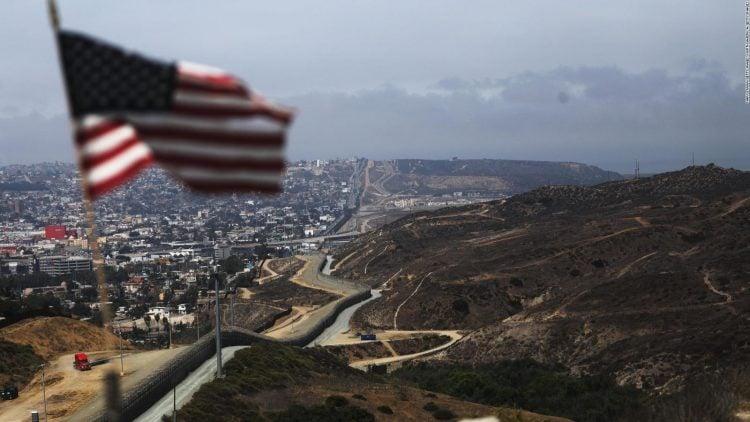 La frontera compartida. Foto: CNN.