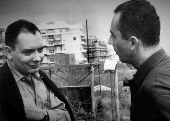 Alfredo Guevara y Michelangelo Antonioni. (Septiembre de 1959).