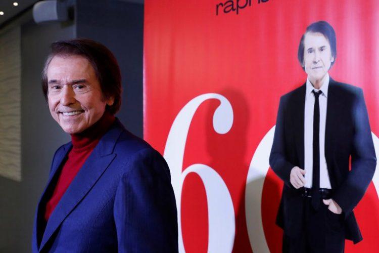 El popular cantante español Raphael. Foto: Zipi / EFE/ Archivo.