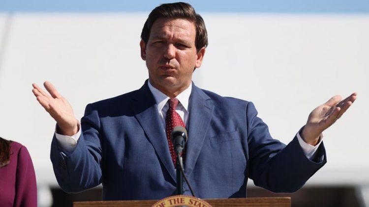 El republicano Ron DeSantis, gobernador de Florida. Foto: CNN.
