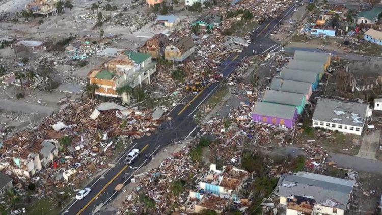 Efectos de un tornado en el Medio Oeste de EEUU. Foto: AP.