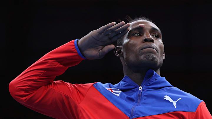 El boxeador cubano Julio César La Cruz. Foto: Olympics.