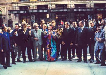 Buena Vista Social Club fotografiado en Nueva York. Foto: Ebet Roberts/Archivo.
