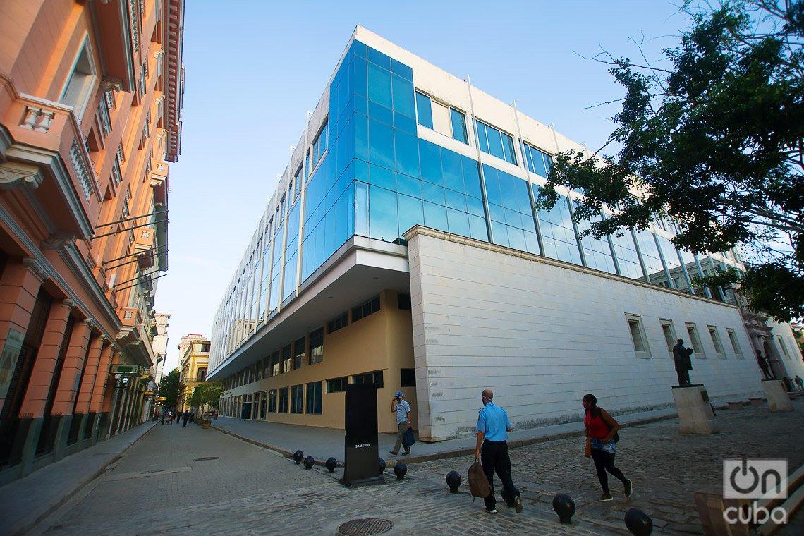 Real y Pontificia Universidad de San Gerónimo de La Habana, en calle de Obispo. Foto: Otmaro Rodríguez.