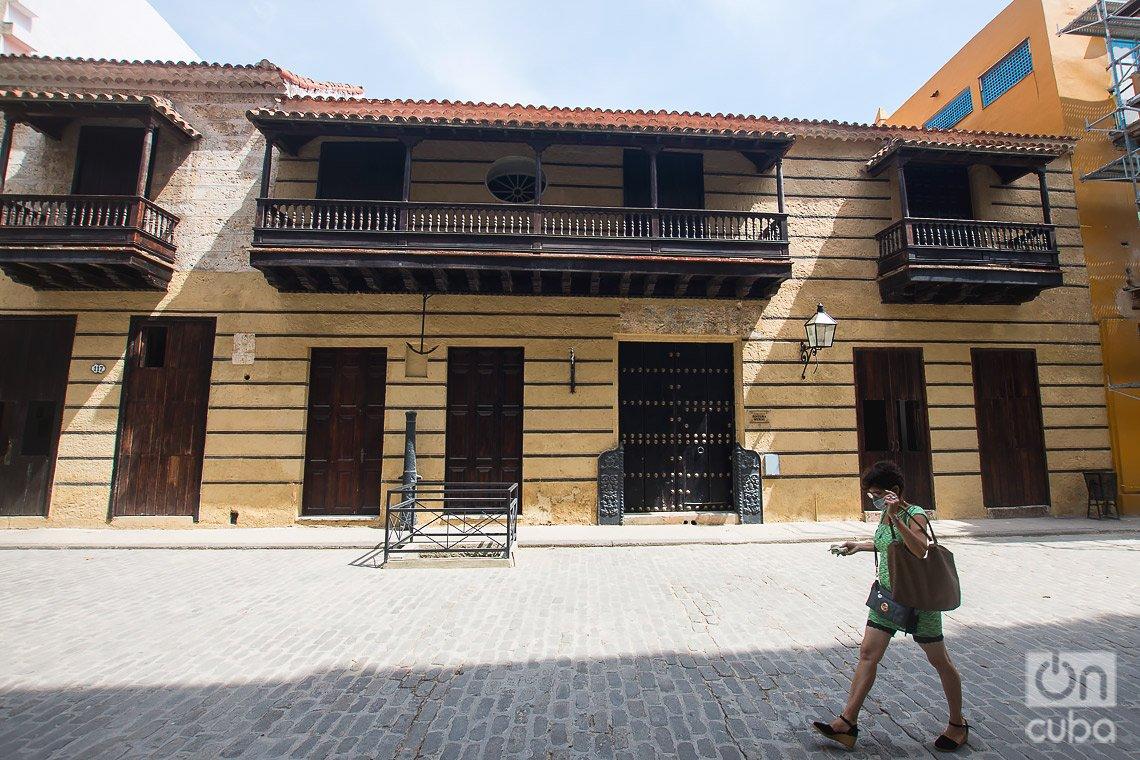 Museo de Pintura Mural, en la calle de Obispo de La Habana. Foto: Otmaro Rodríguez.