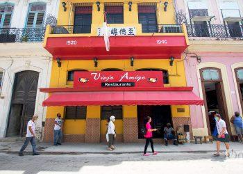 Restaurante en el Barrio Chino de La Habana. Foto: Otmaro Rodríguez