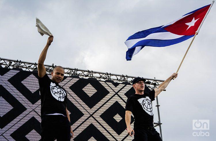 Concierto de Major Lazer en la Tribuna de La Habana. Foto: Alejandra González (Archivo).