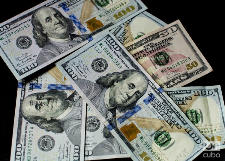 Dólares estadounidenses (USD). Foto: Otmaro Rodríguez.