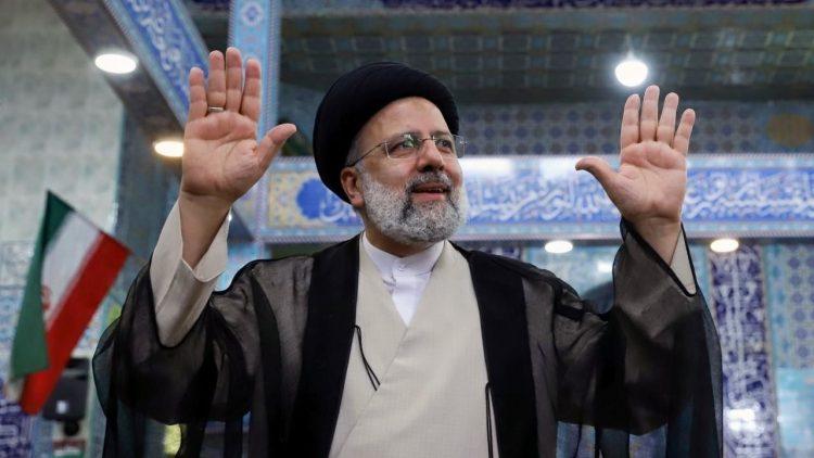 Ebrahim Raisí ganó los comicios persas con el 62 % de los votos. Foto: theguardian.com
