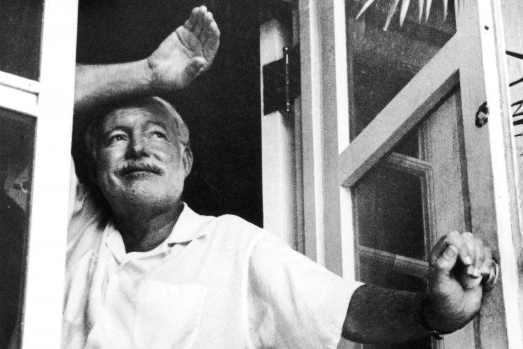 Ernest Hemingway. Foto: Vanity Fair.