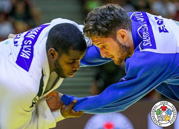 El judoca cubano Iván Silva (izq). Foto: IJF vía jit.cu / Archivo.