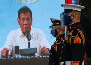 El presidente filipino Rodrigo Duterte. Foto: EFE/EPA/Francis R. Malasig /Archivo.