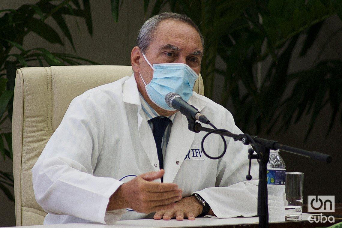 Dr. Vicente Verez, director del Instituto Finlay de Vacunas (IFV), de Cuba. Foto: Otmaro Rodríguez.