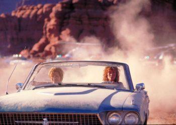 "Filme ""Thelma y Louise"", 1991."