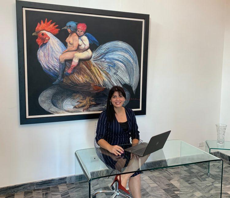 Yaiset Ramírez, directora de Máxima Estudio-Galería. Foto: cortesía de la entrevistada.