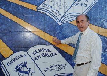 El empresario e intelectual gallego Alfonso Paz-Andrade fallecido el lunes 7 de junio. Foto: farodevigo.es.