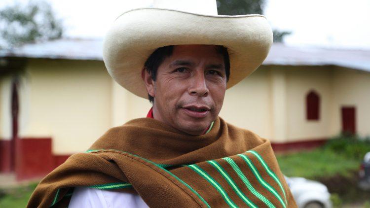 Pedro Castillo. Foto: AP.